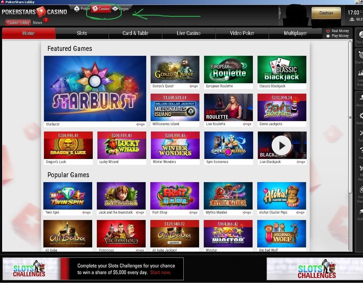 Pokerstars casino millionaires island