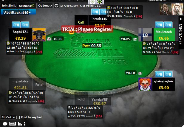 6 plus holdem pokerstars